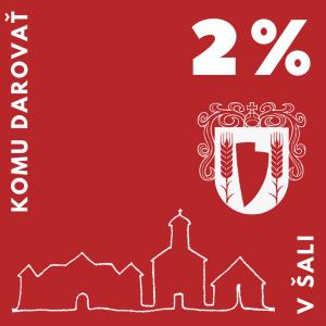 Komu darovať 2 percentá v Šali